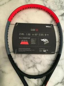 New Wilson CLASH 108 Tennis Racquet  Grip sz 4 1/4 free shipping