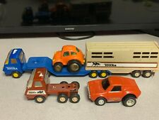 Vintage Tonka Lot of Cars & Trucks Plastic & Die Cast 6 Pieces