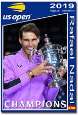 "2019 US Open Champions Rafael Nadal Fridge Magnet Size 2.5"" x 3.5"""