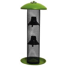 New listing Green Straight-Sided Sunflower Tube Hanging Bird Feeder - 1.5 Lb. Capacity