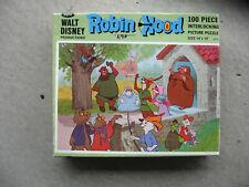 Vintage Robin Hood 100 piece puzzle (1973) Jamar