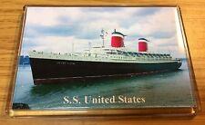 SS UNITED STATES Photo Fridge Magnet Cruise Ship Ocean Liner b