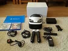 Sony playstation VR headset camera bundle - headset, 2 games, 2 controllers