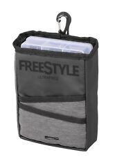 Spro freestyle ultrafree box pouch 21x6x15cm mosquetón de velcro Belt