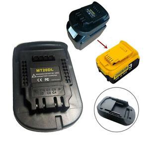 Battery Adapter For Makita 18V battery Convert to DEWALT 18V M18 tools AU Stock