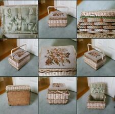 *Used* Lovely Old Vintage ♡Sewing Basket♡ Upcycle~Home Decor~Restore~Arts~Crafts
