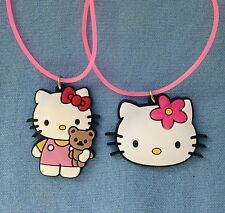Hello Kitty PVC necklace set of 2