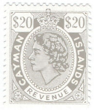 (I.B) Cayman Islands Revenue : Duty Stamp $20