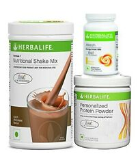 Herbal Life Formula 1 Chocolate Shake With Personalized Protein Powder + Afresh