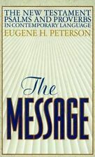 The Message New Testament with Psalms and Proverbs-MS    NEW