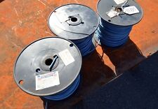 3 Spools of 12 AWG Blue Stranded Copper Wire (Inv.33435)