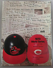 1970 World Series Program Cincinnati Reds vs Baltimore Orioles