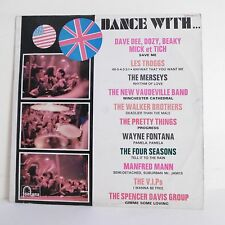"""33T DANCE WITH Vinyle LP 12"""" Les TROGGS The MERSEYS - PRETTY THINGS - V.I.P.s"""