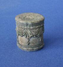 Miniature Dollhouse Green Tint Garden Seat 1:12 Scale New