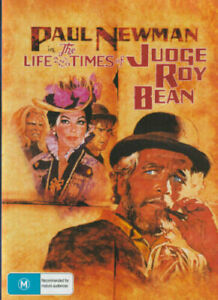 The Life and Times of Judge Roy Bean DVD Paul Newman New and Sealed Australia