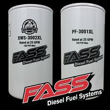 Fass Titanium Fuel Filter Package Xws-3002Xl / Pf-3001Xl * Replaces Ff-3003 *