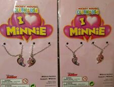 2 x  DISNEY MINNIE MOUSE & DAISY DUCK BEST FRIENDS NECKLACE -  PROMOTIONAL PRICE