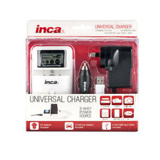New Inca Universal Charger w/LCD (For Lith/4xAA/USB)
