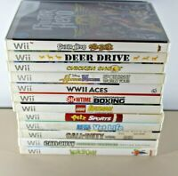 Nintendo Wii Game Lot of 12 Games - Including Call of Duty, Lego, Guitar Hero