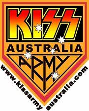 Kiss - Kiss Army Australia Vinyl LP Heavy Metal Magnet, Sticker