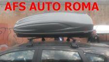 BOX AUTO PORTATUTTO G3 ALL-TIME 480.+BARRE NISSAN QASHQAI NO RAILS ANNO 2008