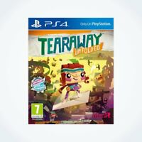TEARAWAY UNFOLDED sur PS4 / Neuf / Sous Blister / Version FR