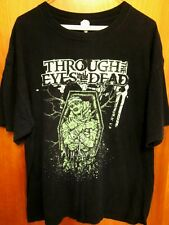 THROUGH THE EYES OF THE DEAD tee XL death metal band T shirt Florence SC crypt