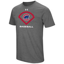 NEW Under Armour Chicago Cubs Men's T-Shirt Grey Medium