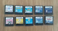 10x Nintendo DS Games JOB LOT Bundle Games Cartridges PAL