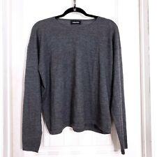 FLAW Eskandar Womens Sweater 100% Cashmere Knit Pullover Long Sleeve One Size