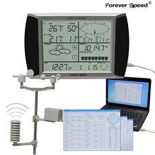 WH1080 Wetterstation USB Touchscreen Funkwetterstation Barometer Regen GratisDHL