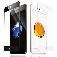 iPhone 5/5S/5C/SE/6S/7 Plus Glass Screen Protector, Premium 3D Curved Ballistic