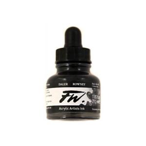 Daler-Rowney FW Ink - Black (India) Ink 29.5ml
