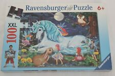 Ravensburger Puzzle Enchanted Forest XXL 100 Pcs NEW Sealed Box #10793