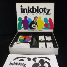 Vintage Decipher Inkblotz the game, board game Complete and Excellent condition