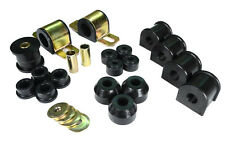 Jeep Cherokee XJ Front Rear Poly Swaybar Set Trackbar Tie Rod Bushing Kit Black