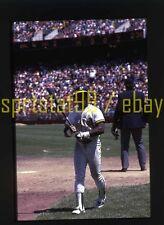 Rickey Henderson - Oakland Athletics A's - c1979 - Vintage 35mm Baseball Slide