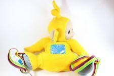 Teletubbies LaLa Yellow Laa Laa Telly Tubby Large Backpack Bag Retro Playskool