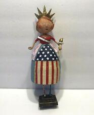 Lori Mitchell Figurine Lady Liberty -4Th Of July Usa