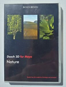 DOSCH 3D For Maya - Nature - Royalty Free 3D Models For 3D Design and Animation