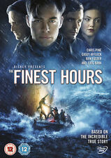The Finest Hours 2016 Chris Pine Casey Affleck R2 DVD in Hand Immediate DISPATCH