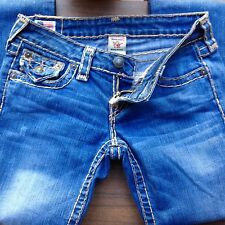 TRUE RELIGION BILLY SUPER T WOMENS JEANS SIZE 26 MADE IN USA