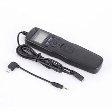 US LCD Timer Shutter Release Remote Cable for Sony A7 A7R A7S A7II A7R II A7M2