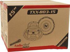"Audiopipe TXX-BD3-15 2400W Peak  15"" TXXBD315 Dual 4 ohm Car Subwoofer"