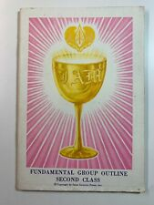 I Am Fundamental Group Outline Second Class by Saint Germain Press 1971