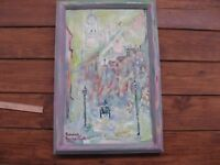 "Painting,picture ""England Liverpool 1906"" Written by Roman Chelombitsko,2008,oil"