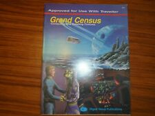 Grand Census Contacting & Detailing Cultures Traveller RPG Digest Group Rare