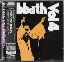 BLACK SABBATH VOL 4 (1972) JAPAN CD OBI  Victor – VICP-61280 Ozzy
