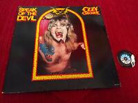 2 LP 33 Ozzy Osbourne Speak Of The DevilEpic EPC 451124 1 EU 1987