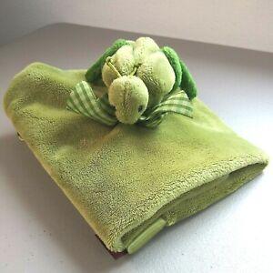 Grasshopper Cricket Lovie Lovey Security Blanket Bearington Green Satin Trim